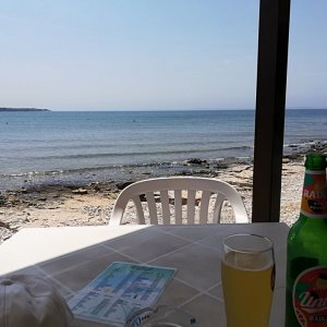 Istrien : BARBARIGA > Beachbar
