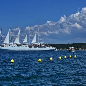 Istrien: ROVINJ > Wind Surf